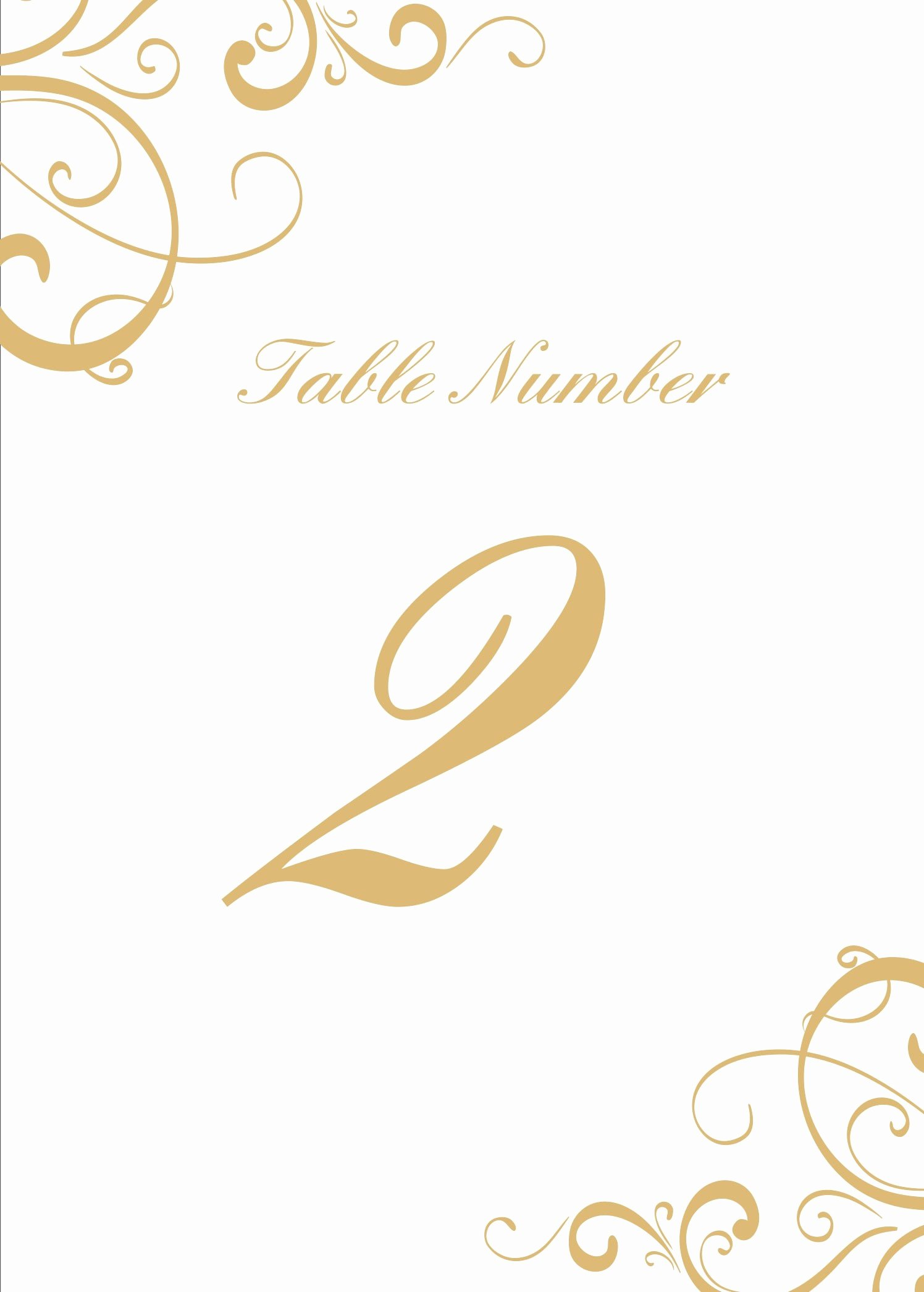 Fold Over Place Card Template Fresh 28 Elegant Printable Table Numbers