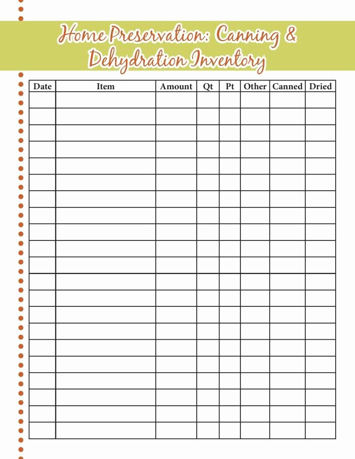 Food Inventory List Template Inspirational Food Storage Inventory Sheets A Proverbs 31 Wife