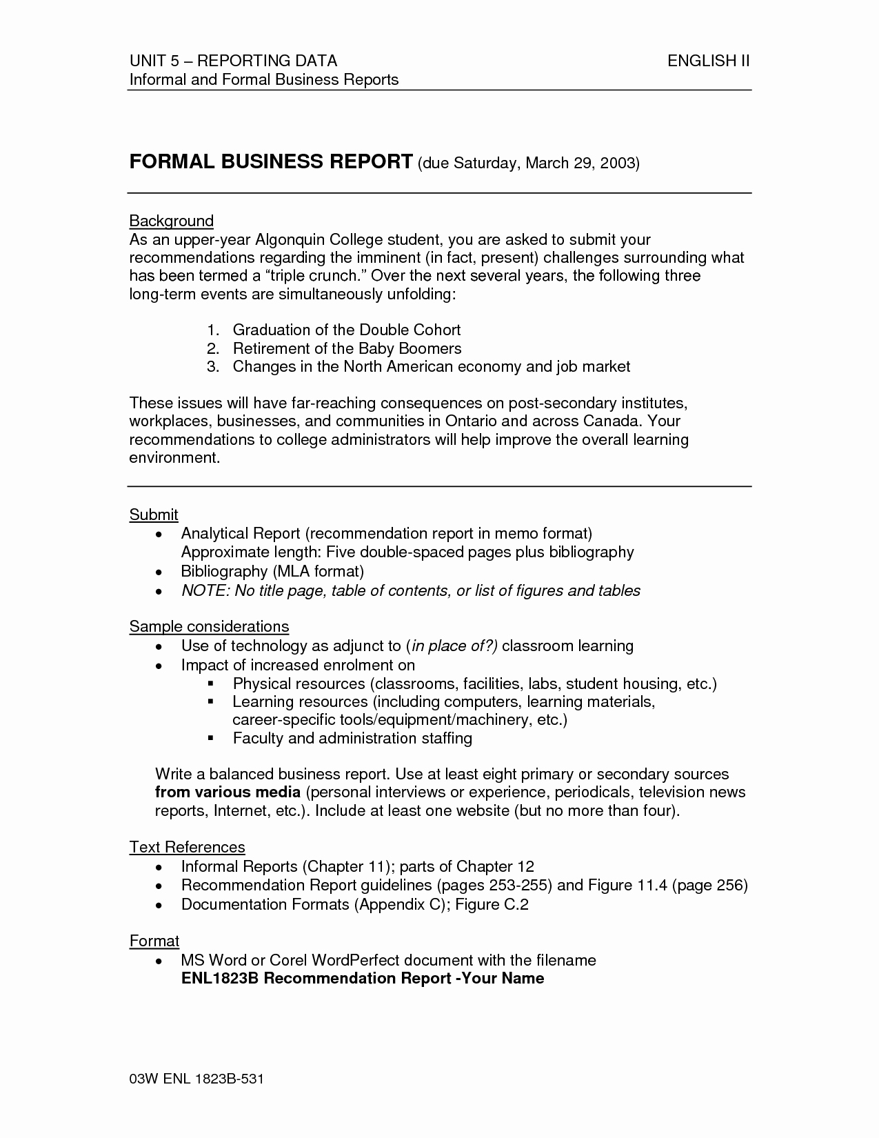 Formal Business Report Template New Other Template Category Page 86 Spelplus