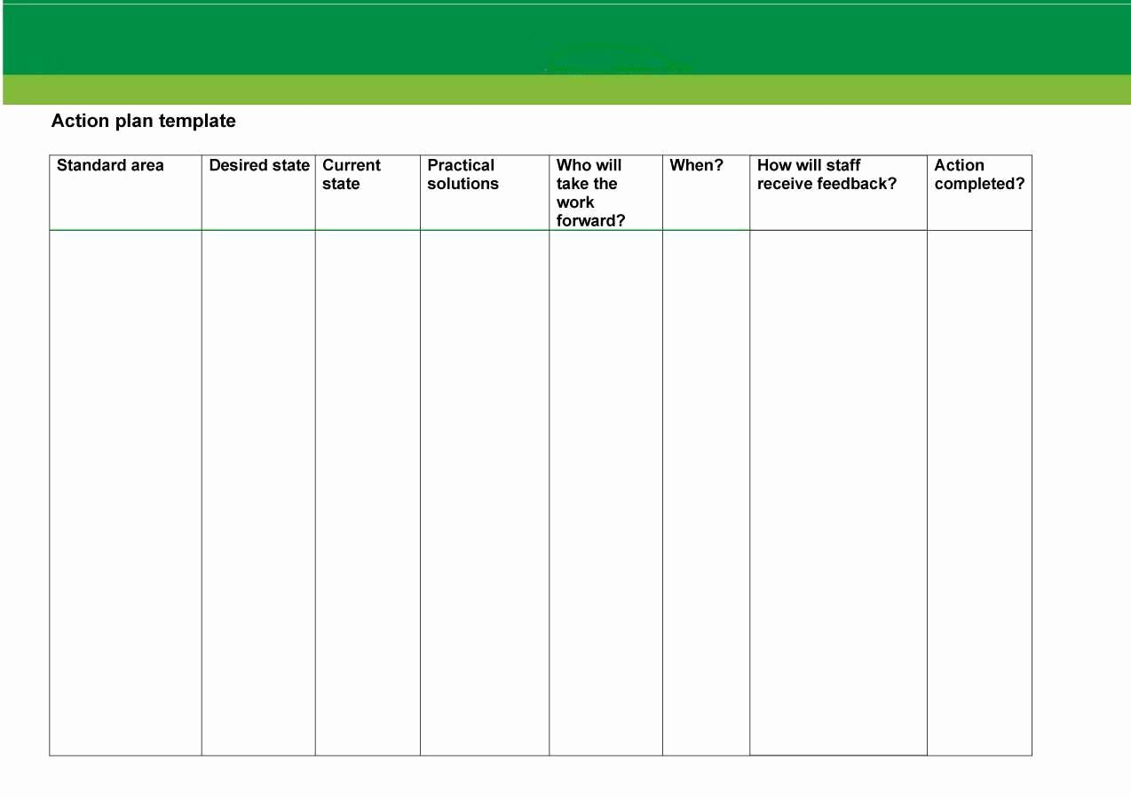 Free Action Plan Template Inspirational Project Plan Templates Ms Word 10 X Excels Spreadsheets