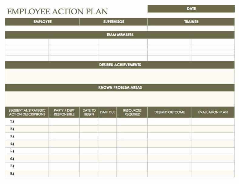 Free Action Plan Template Luxury Free Action Plan Templates Smartsheet