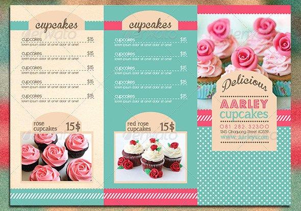 Free Bakery Menu Template Inspirational 10 Psd Tri Fold Menu Templates Free Tri Fold