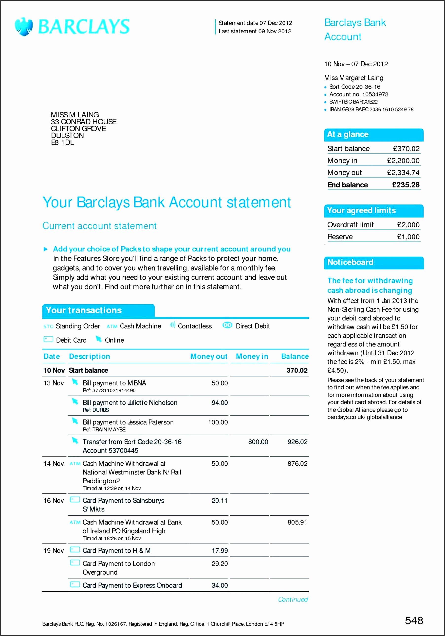 Free Bank Statement Template Beautiful 8 Free Bank Statement Line Sampletemplatess