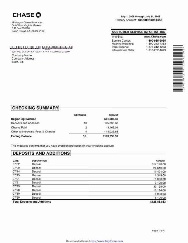 Free Bank Statement Template Luxury Free Bank Statement Template Free Download Aashe