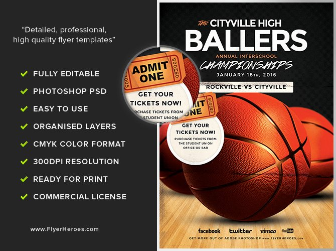 Free Basketball Flyer Template Best Of Basketball Flyer Template Flyerheroes