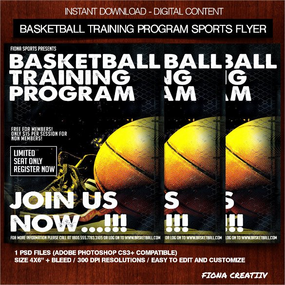 Free Basketball Flyer Template Elegant Basketball Flyer Template 24 Download Documents In Pdf