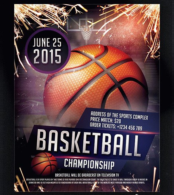 Free Basketball Flyer Template Lovely 31 Basketball Flyer Templates Free & Premium Download