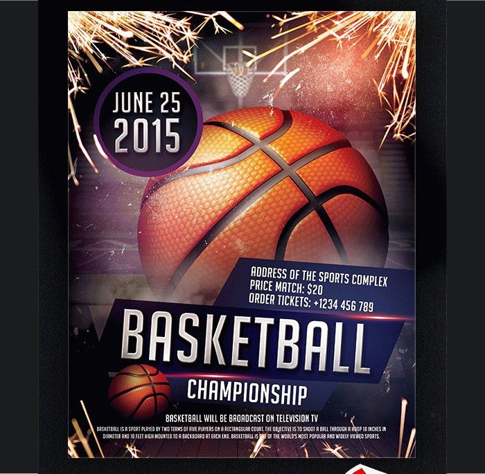 Free Basketball Flyer Template Lovely 36 Basketball Flyer Psd Templates Free & Premium Designyep