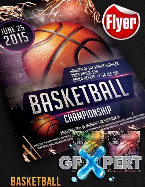 Free Basketball Flyer Template Luxury Free Basketball Free Flyer Psd Template Cover
