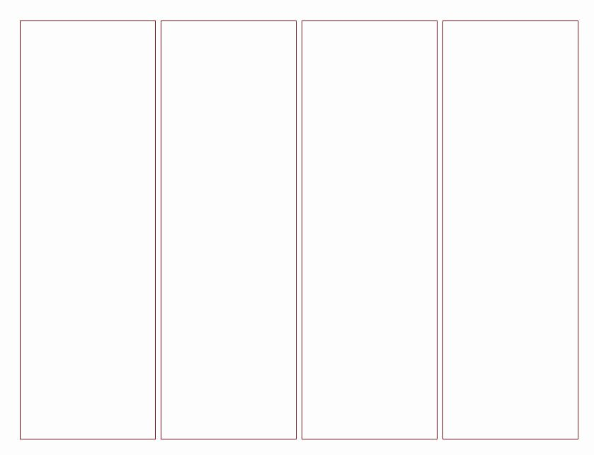 Free Blank Bookmark Template Elegant Blank Bookmark Template for Kidsfun Coloring