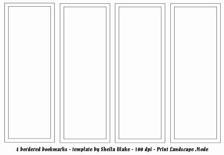Free Blank Bookmark Template Fresh Best 25 Bookmark Template Ideas On Pinterest