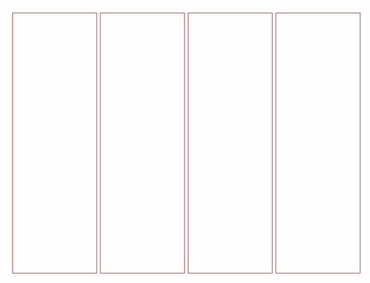 Free Blank Bookmark Template Fresh Blank Bookmark Template for Word