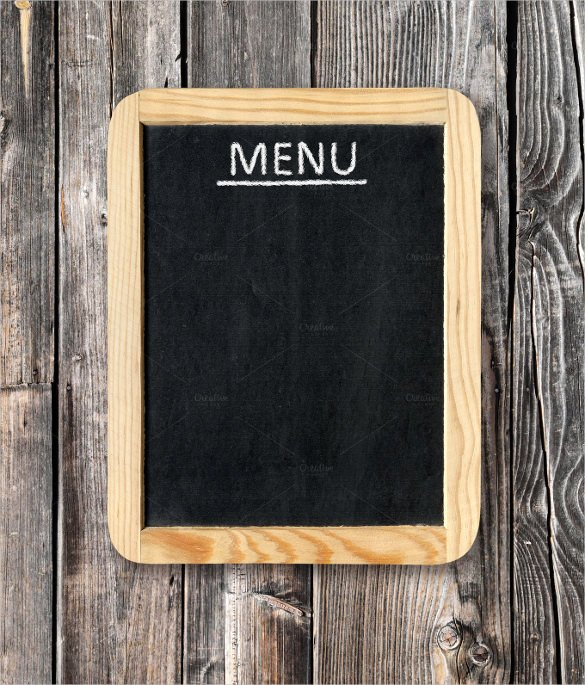 Free Blank Menu Templates Beautiful 33 Menu Board Templates – Free Sample Example format