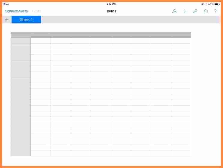 Free Blank Spreadsheet Templates Elegant 5 Free Blank Spreadsheet Templates
