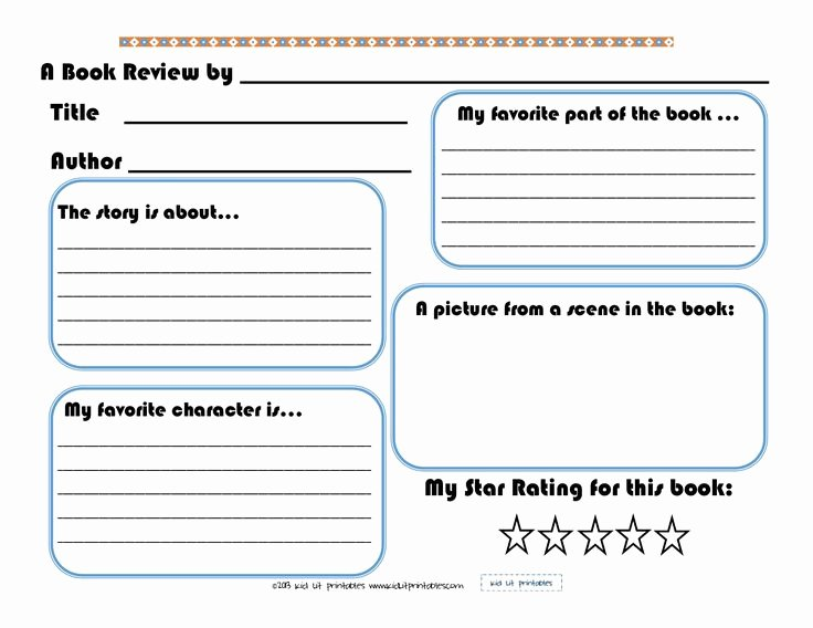 Free Book Report Templates Awesome 3 Levels Of Free Printable Book Reports From Kid Lit