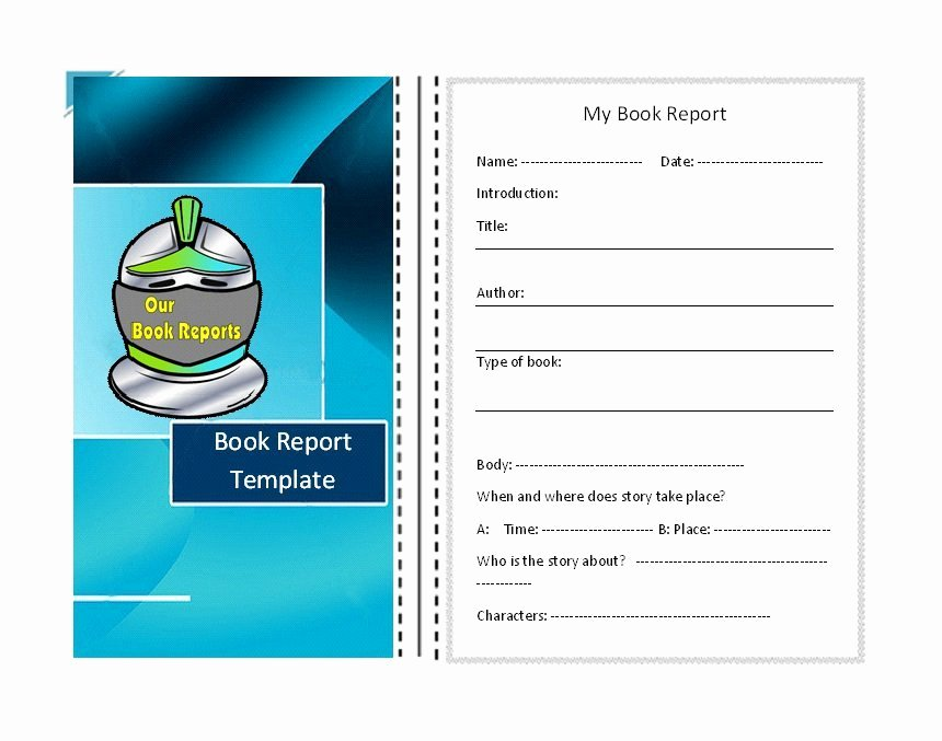 Free Book Report Templates Fresh 30 Book Report Templates & Reading Worksheets