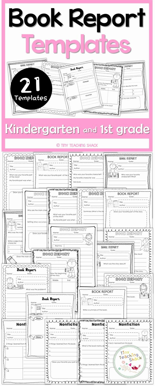 Free Book Report Templates Inspirational Best 10 Book Report Templates Ideas On Pinterest