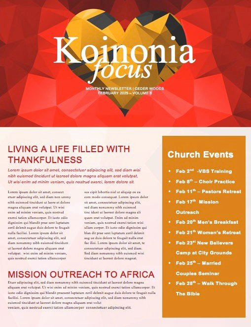 Free Church Newsletter Templates Best Of Beautiful Edit Ready Church Newsletters and Newsletter