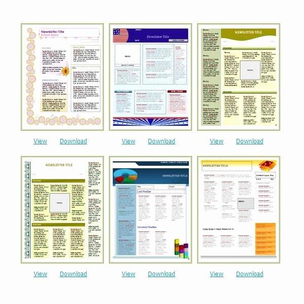 Free Church Newsletter Templates Elegant where to Find Free Church Newsletters Templates for