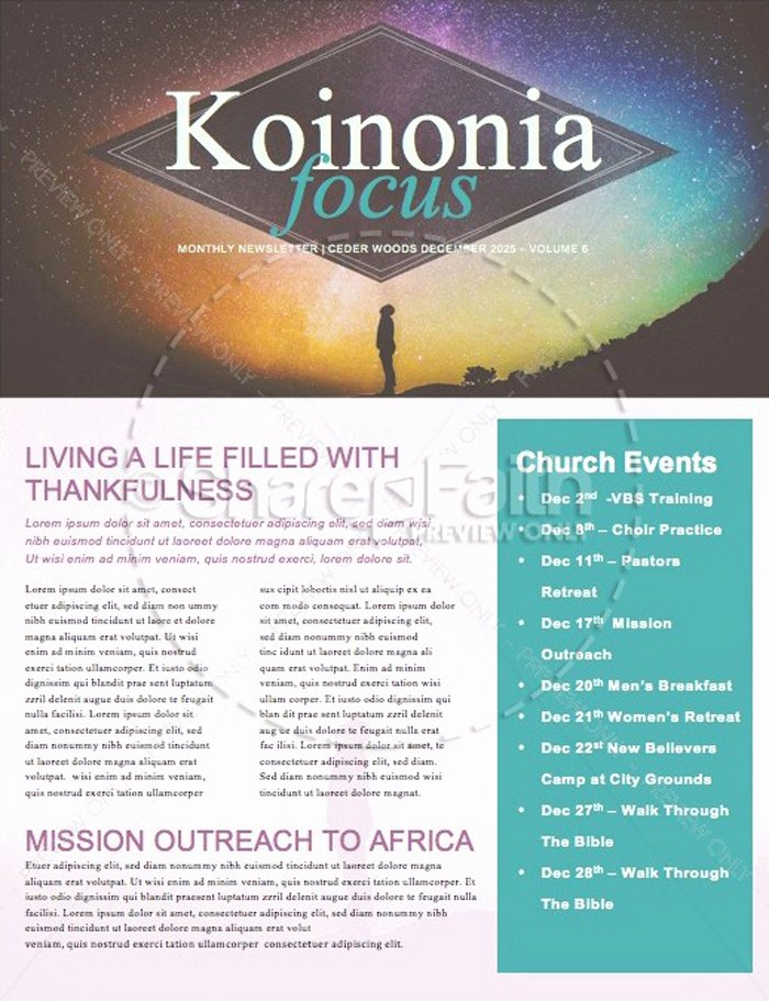 Free Church Newsletter Templates New 15 Free Church Newsletter Templates Ms Word Publisher