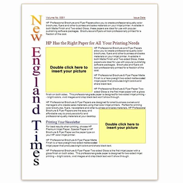 Free Church Newsletter Templates New where to Find Free Church Newsletters Templates for