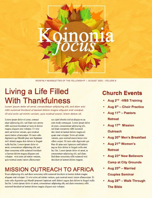 Free Church Newsletter Templates Unique Beautiful Edit Ready Church Newsletters and Newsletter