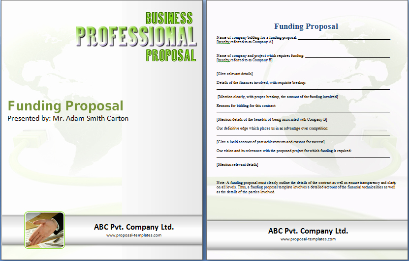 Free Cleaning Proposal Template Lovely Funding Proposal Template Doc