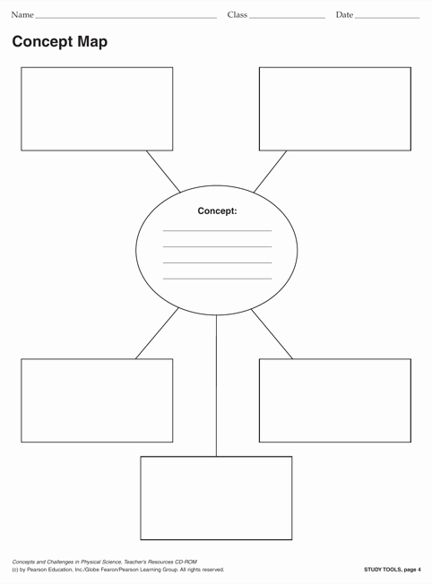 Free Concept Map Template Lovely Download Concept Map Template for Free formtemplate