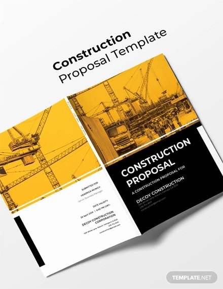 Free Construction Proposal Template Pdf Elegant 17 Construction Proposal Examples Pdf Doc Psd Ai