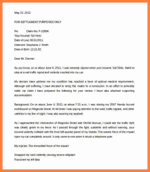 Free Demand Letter Template Beautiful 4 Workers Pensation Settlement