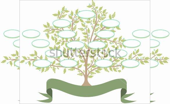 Free Editable Family Tree Template Elegant Free Editable Family Tree Template