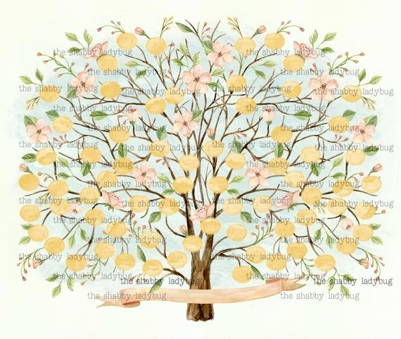 Free Editable Family Tree Templates Fresh Watercolor Blank Family Tree Diy You Print and Fill In the