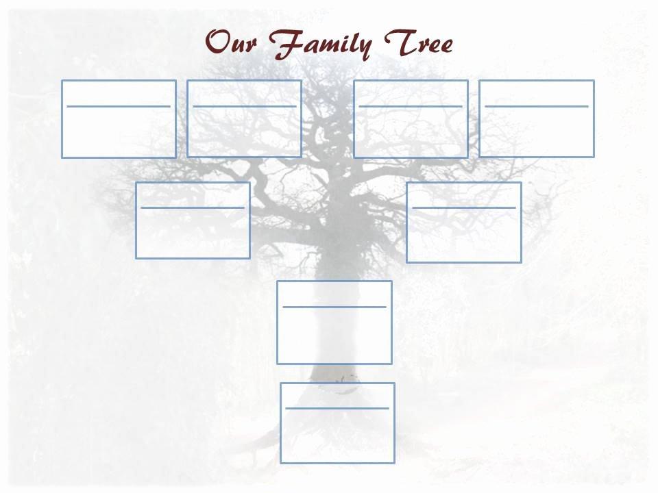 Free Editable Family Tree Templates Inspirational Editable Family Tree Template – Ancestry Talks with Paul