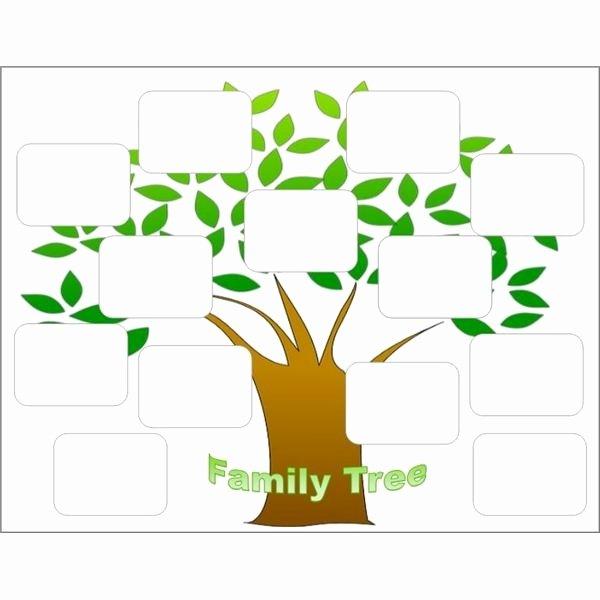 Free Editable Family Tree Templates Lovely Free Editable Family Tree Template