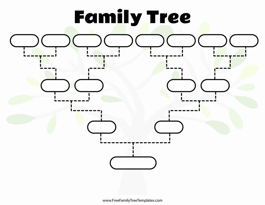 Free Editable Family Tree Templates Luxury Free Family Tree Templates for A Projects