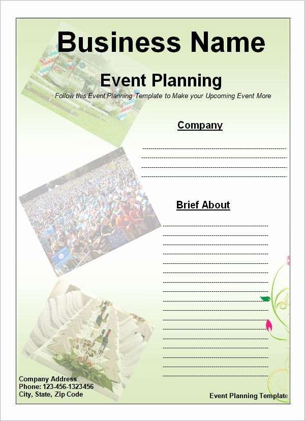 Free event Plan Template Luxury event Planning Template 11 Free Documents In Word Pdf Ppt
