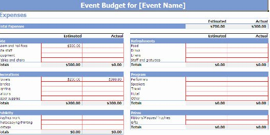 Free event Planner Templates Luxury Microsoft Fice S Free event Planning Template