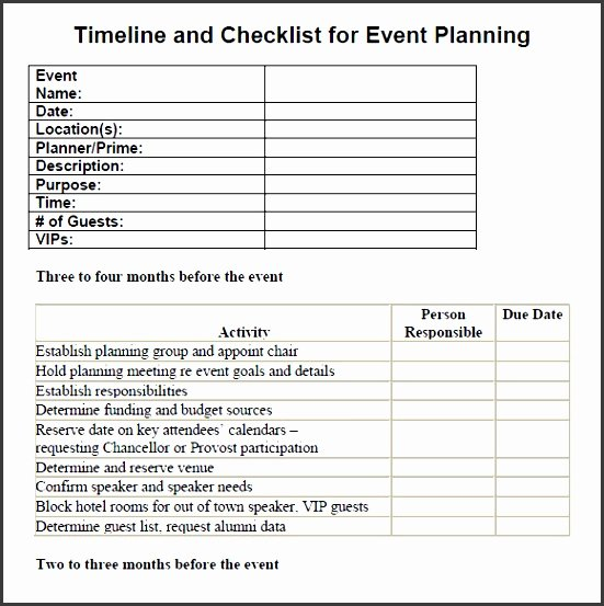 Free event Planning Templates Awesome 7 Printable Conference Planning Checklist