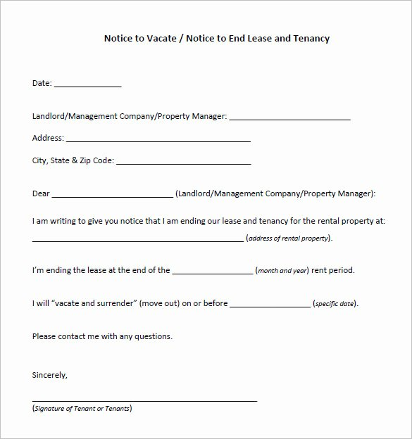 Free Eviction Notice Templates Beautiful Notice Template 110 Free Word Pdf format Download