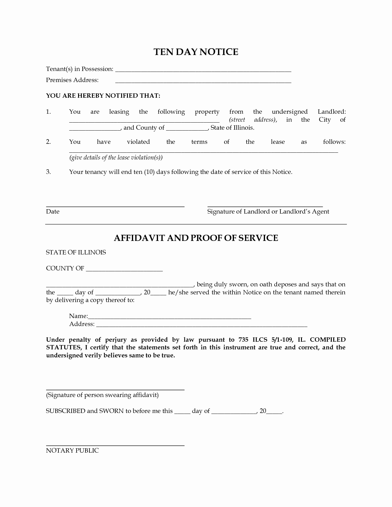 Free Eviction Notice Templates Best Of Notice Template Category Page 19 Efoza