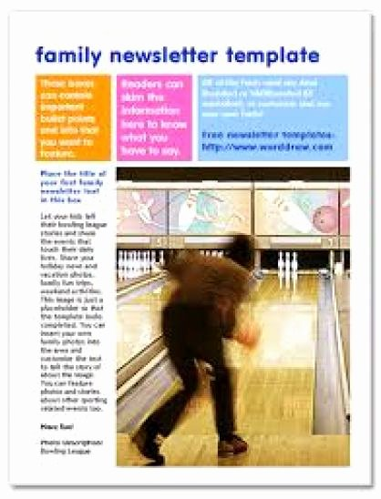 Free Family Newsletter Template Best Of Family Newsletter Templates Word Excel Samples
