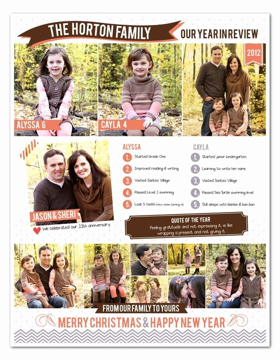 Free Family Newsletter Template Lovely Sheri Mae Designs Merry Christmas Free