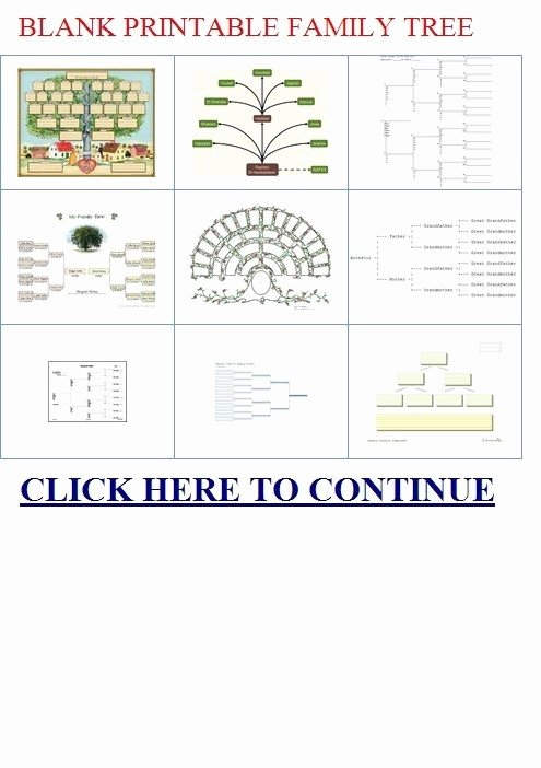 Free Fillable Family Tree Template Best Of Blank Printable Family Tree