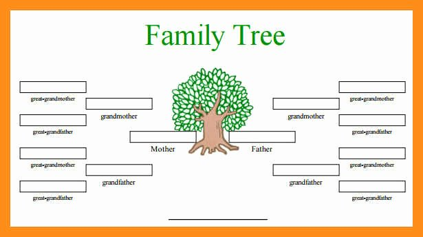 Free Fillable Family Tree Template Luxury 12 13 Family Tree Spreadsheet Template