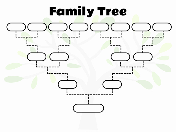 Free Fillable Family Tree Template Unique 42 Family Tree Templates for 2018 Free Pdf Doc Ppt