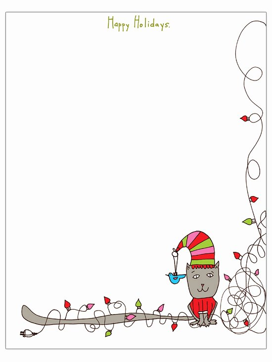 Free Holiday Newsletter Templates Best Of Christmas Letter Templates to for Free Engaged