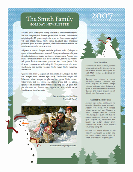 Free Holiday Newsletter Templates Elegant 7 Useful Christmas Cards Christmas Cards