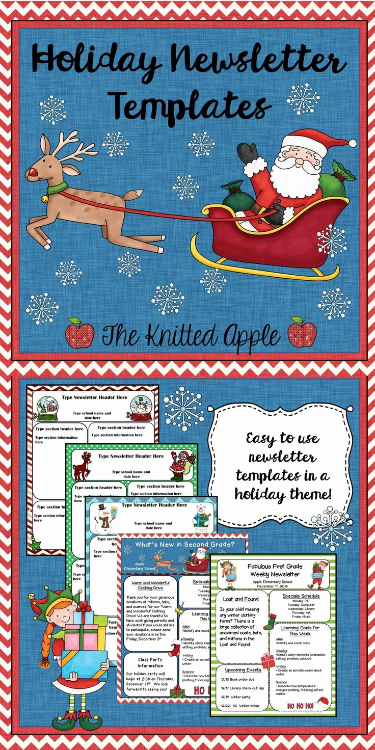 Free Holiday Newsletter Templates Lovely 17 Best Images About Cedar Chest On Pinterest