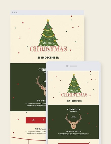 Free Holiday Newsletter Templates Lovely 20 Christmas Newsletter Templates Editable Psd Ai