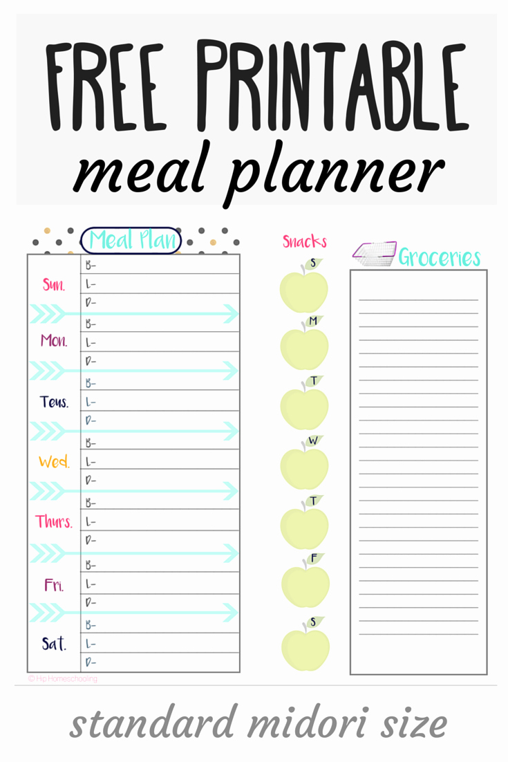 Free Meal Plan Templates Best Of 26 Free Meal Planning Resources